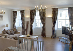 Drawing Room with views of the Royal Mile
