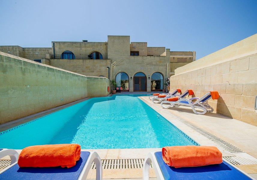 Gozo villa with private pool