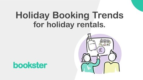 Holiday booking trends for holiday rentals - Analysis of August 2021 holiday bookings, for 2021, 2022 and 2023 trends for holiday rentals