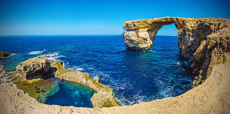 """Gozo Azure Window"""