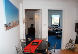 Holiday Let self catering North Berwick 1st floor apartment
