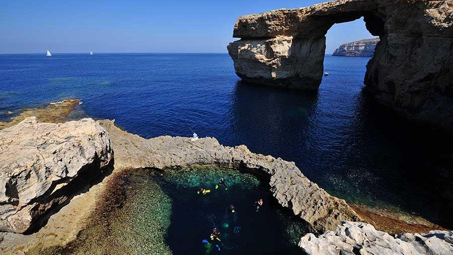 """""""Diving Waters in Gozo"""""""
