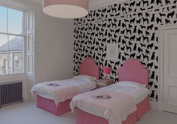 18.Pink Twin Bedroom