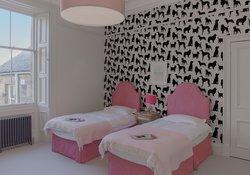 18.Pink Twin Bedroom