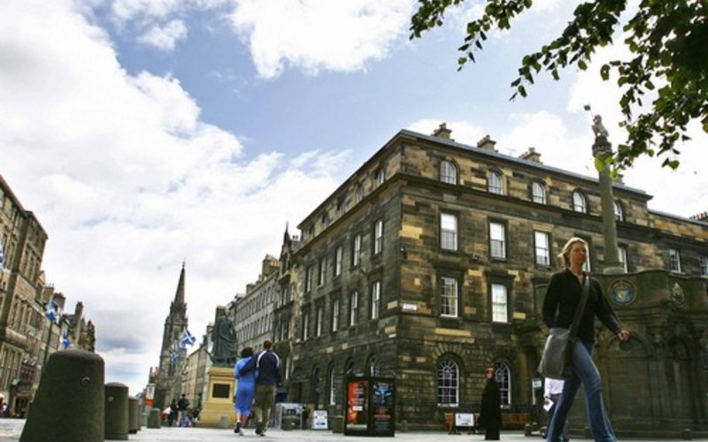 Picture of Parliament Sq 2, Royal Mile, 300 metres from Edinburgh Castle , Lothian, Scotland - View of building that Parliament Sq 2 is located in