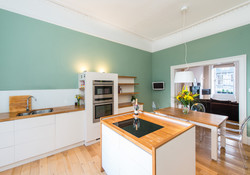 Albany Street Townhouse Dining Kitchen