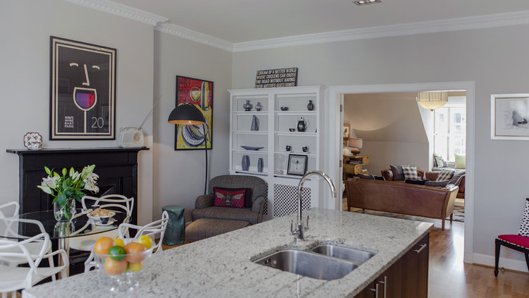 Kitchen & Dining Area - Spacious home with a luxury feel. The ideal apartment for sophisticated and people on the go (© The Edinburgh Address)