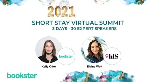Short Stay Summit 2021 - Join Elaine Watt and her 30 guest speakers over 3 days.