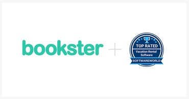 Bookster and Software World - Bookster named top 10 vacation rental software provider by Software World