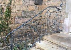 handmade iron railings