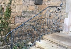 handmade iron railings