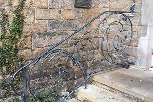 artisan handmade iron railings