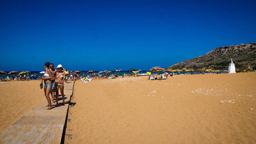 """Ramla Bay Beach Gozo"""