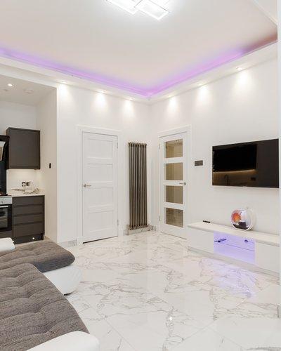 BroughtonRd_4 - Ultra-modern open plan living/kitchen area in Edinburgh holiday let