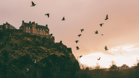 Edinburgh Castle - Edinburgh Castle at night
