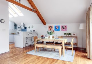 8.Open Plan Kitchen and Dining Area