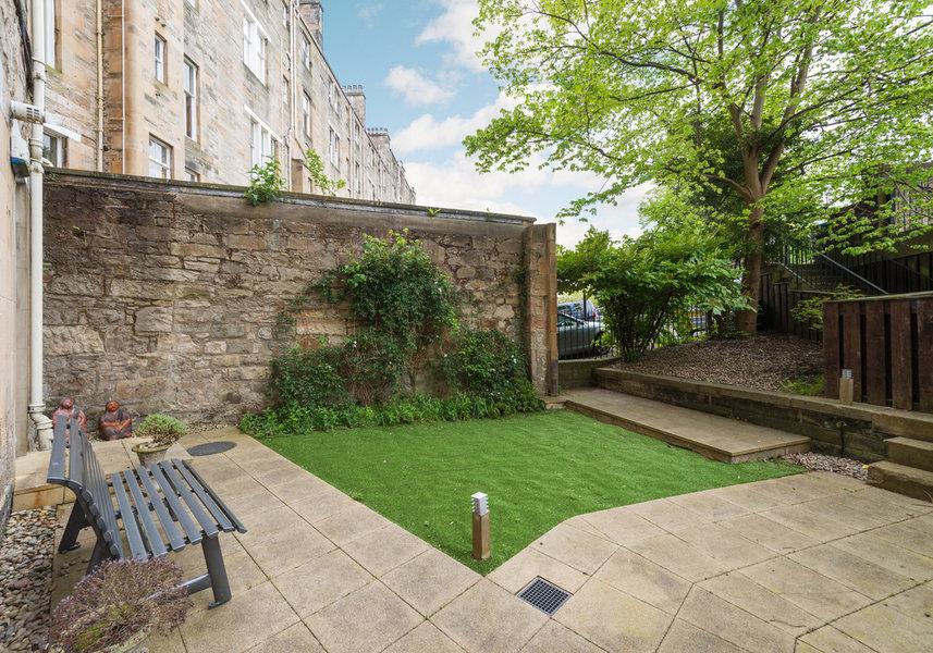 Drumsheugh Gardens Apartment Garden