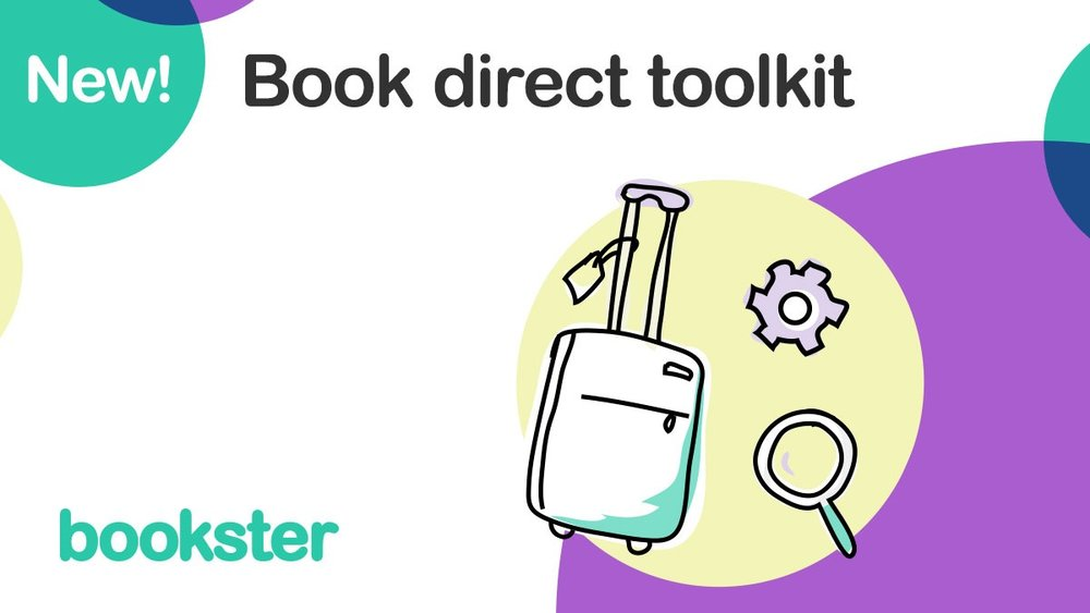 Book Direct Toolkit - A Book Direct Toolkit to help property managers manager their SEO and marketing strategy to attract new guests to book on their website.