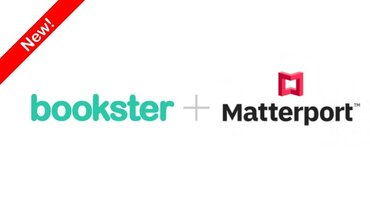 Bookster with Matterport 3d videos - Add your Matterport 3D videos to Bookster property management software to boost competitivity and attract more direct bookings.