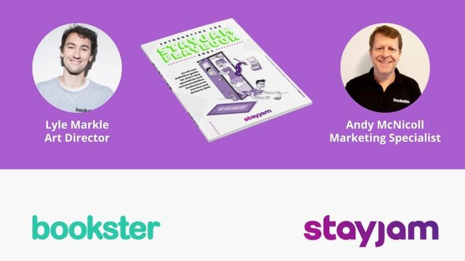 Bookster articles in StayJam 2021 - Bookster articles written by Lyle Markle, Art Director and Andy McNicoll, Marketing Specialist for StayJam 2021
