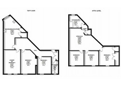 Ardmillan 5 Bed Apartment Floor Plan