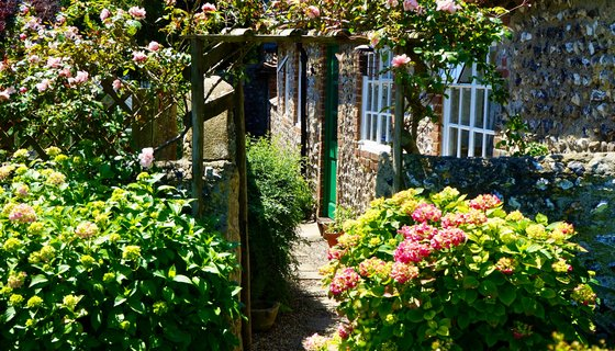 Private garden in Edinburgh - Stay at one of our city centre apartments with a private outdoor area.