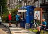 Local Area Police Box Cafe