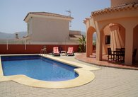 LG Pool - house - sunbeds