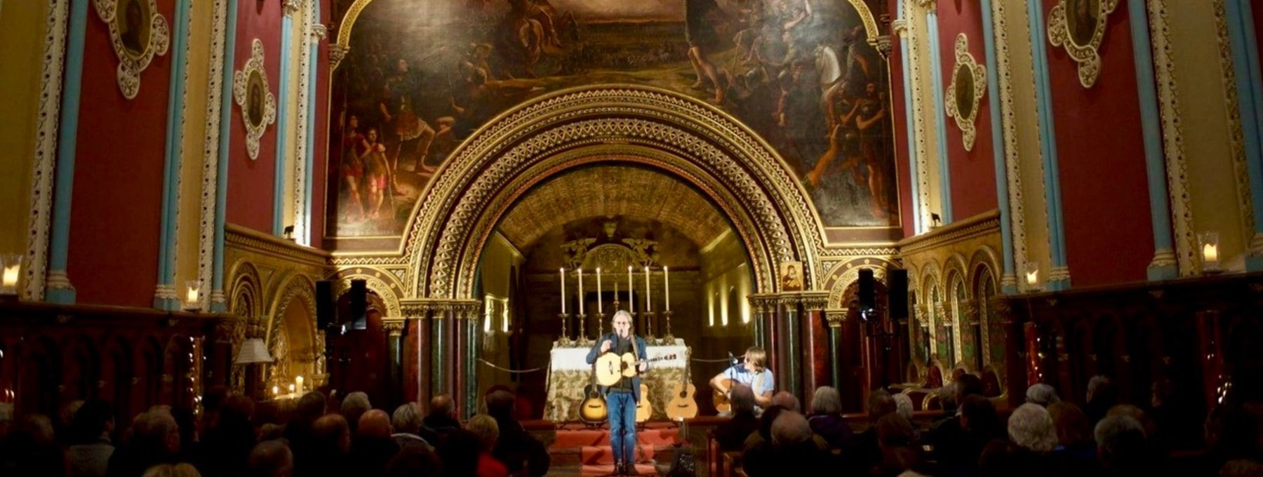 Perthshire Amber Festival - The chapel at Murthly Estate is a favourite music concert venue for Dougie' MacLean's Perthshire Amber Festival. (© Murthly Estate)