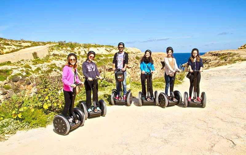 """Segwaying On Gozo"""