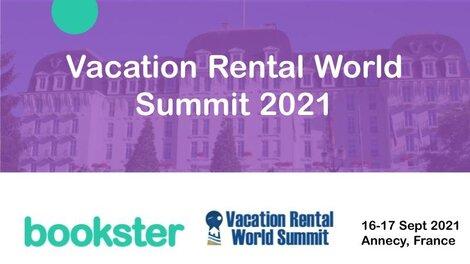 Vacation Rental World Summit 2021 (VRWS) - Bookster presented at Vacation Rental World Summit (VRWS) 2021. (© By Nicolas Champavert)