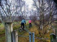 Biking Nethy Bridge to Grantown