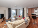 The Park (Holyrood Road) 7 - Spacious family living area at Edinburgh holiday let