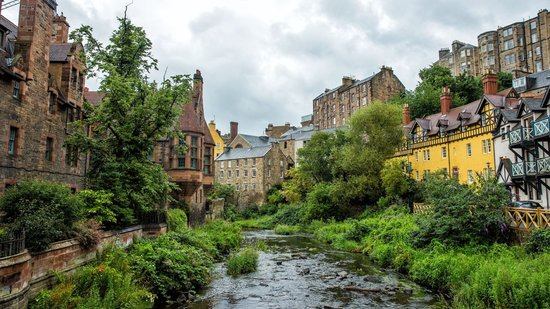 Dean-Village-View-from-Bridge