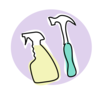 Cleaner maintenance tools
