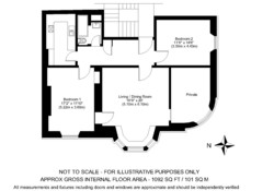 Haymarket Terrace floor plan