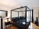Picture of Ratcliffe Terrace Apartment Sleep 10, Lothian, Scotland - four poster spacious bedroom with ensuite.