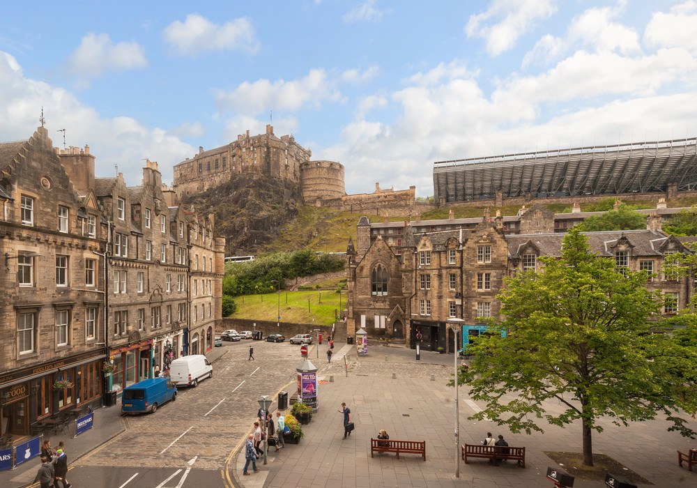 Castle View Suite 1 Old Town Edinburgh Edinburgh Self Catering