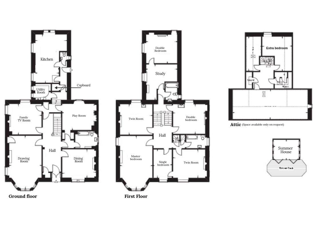The Mansion Floor Plan