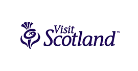 Visit Scotland logo - Bookster's marketing channel Visit Scotland