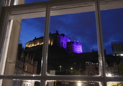 view from lounge window Castle View 2