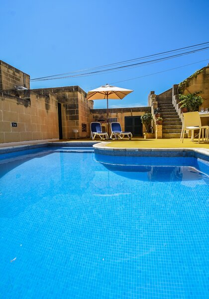 2. Private pool and sun loungers
