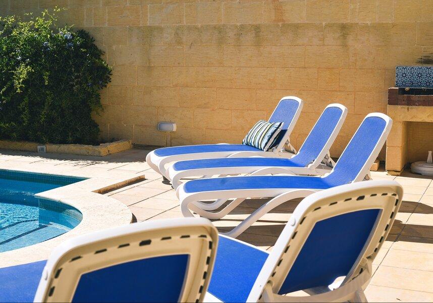 4. Sun loungers
