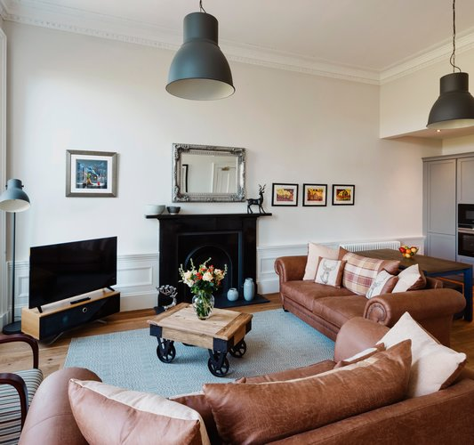 Spacious self catering in Edinburgh New Town