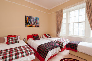 Our guests just love this fun packed room.  Sleeps 5 and very spacious.  Want to all be together then this is the one.