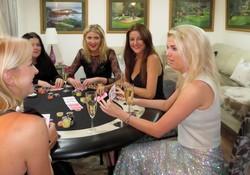 enjoying the poker