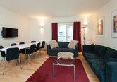Edmonstone Close Apartment- living room