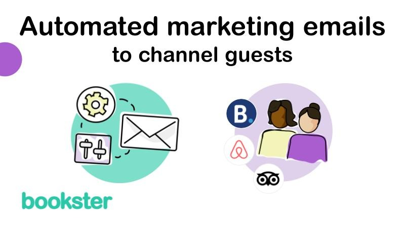 Automate marketing emails to channel and ota guests - Send personal and automated emails to channel and ota guests