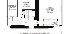 Edinburgh Self Catering Parliament Sq 5 floor plan