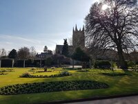 Abbey Gardens and Cathedral